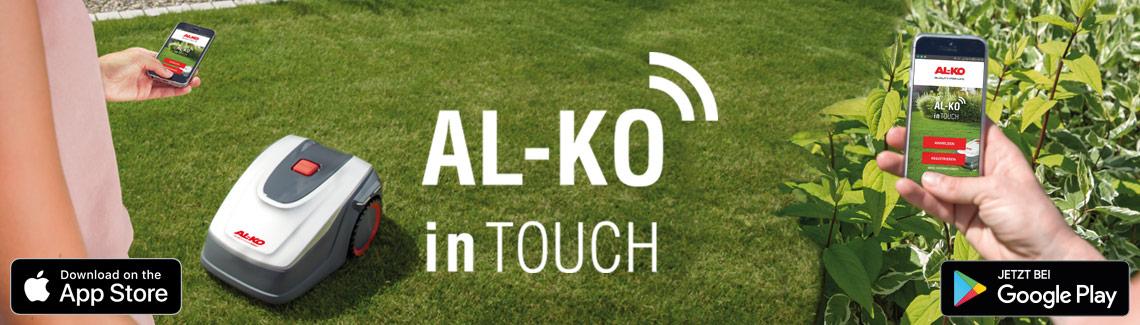Robotické sekačky | Aplikace AL-KO inTouch