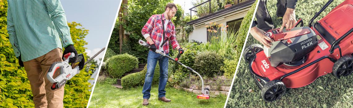 AKU Zahradní nářadí | Akumulátorové přístroje v akci