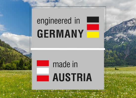 Trávne kosačky | Vývoj v Nemecku, výroba v Rakúsku