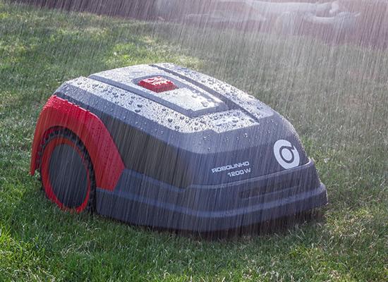 Robotické sekačky | Nezávisle na počasí