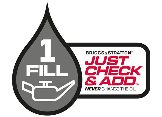 Trávne kosačky | Už žiadne výmeny oleja pri vybraných motoroch Briggs & Stratton