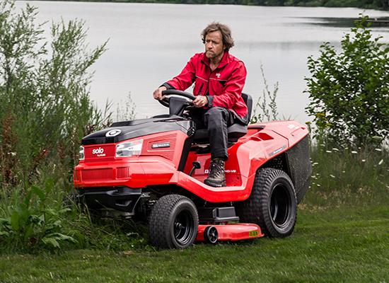 Zahradní traktory | Odolný rám vyrobený v Rakousku